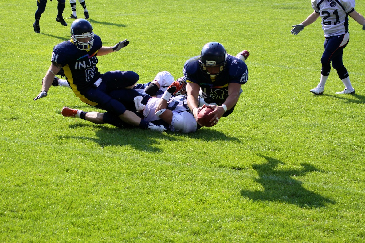Jenaer Hanfrieds vs. Langen Knights (05.06.2011)