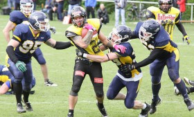 Jenaer Hanfrieds vs. Wernigerode Mountain Tigers (11.05.2014)